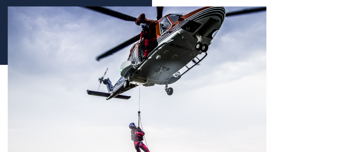 Helicopter Hoist Operation